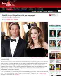 Brad Pitt and Angelina Jolie are engaged!: heatworld